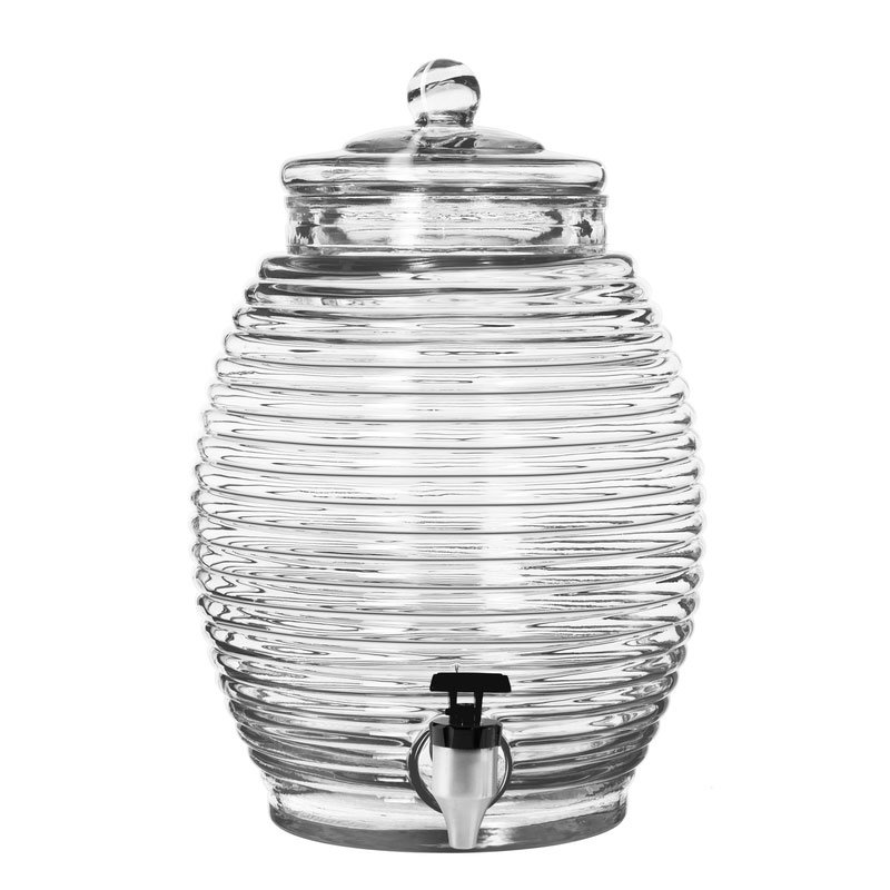 Libbey Glass 92165 2.9 gal, Beehive Dispenser w/ lid