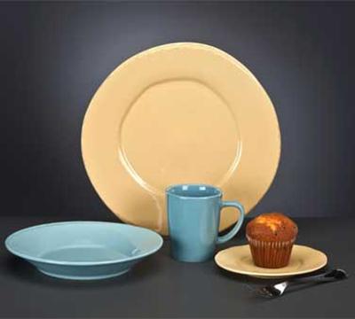 Libbey Glass FH-514H 27-oz Porcelain Soup/Salad Bowl - Blue Hen