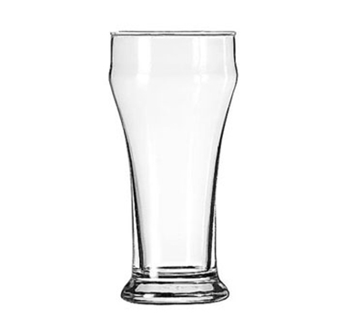Libbey Glass 1013HT 10-oz Pilsner Bulge Top Glass - Safedge Rim, He