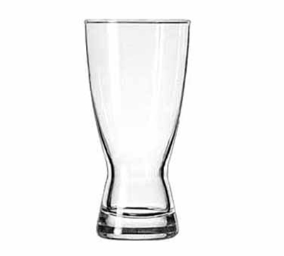 Libbey Glass 1183HT 15-oz Hourglass Design Pilsner Glass - Safedge Rim