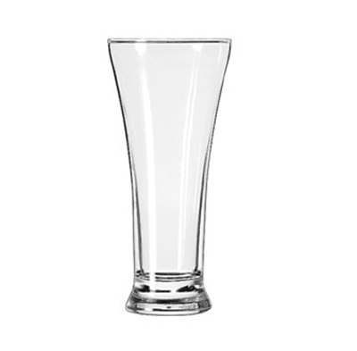 Libbey Glass 1240HT 10-oz Flared Top Pilsner Glass - Safedge