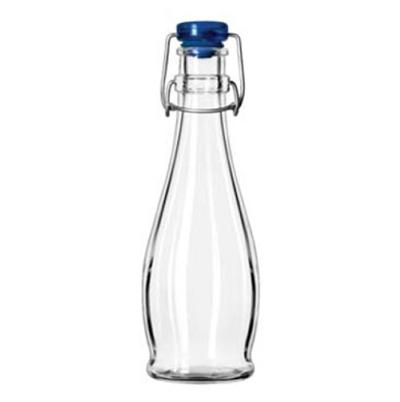Libbey Glass 13151017 12-oz Water Bottle - Wire Bail Lid