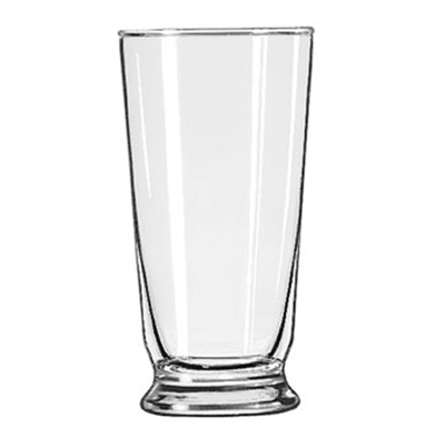 Libbey Glass 1452HT 14-oz Footed Soda Glass - Safedge Rim Guarantee