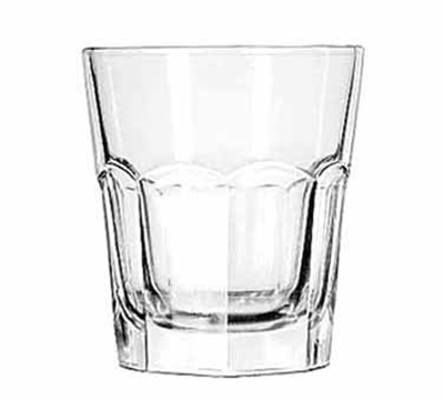 Libbey Glass 15233 13-oz DuraTuff Gibraltar Double Rocks Glass