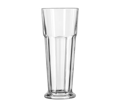 Libbey Glass 15429 14-oz DuraTuff Gibraltar Footed Pilsner Glass