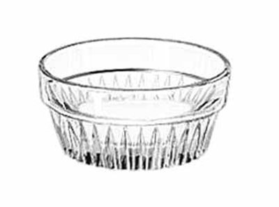Libbey Glass 15445 1.5-oz DuraTuff Winchester Ramekin, 2.37-in