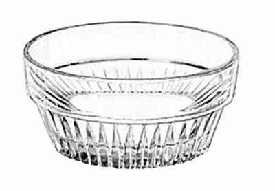 Libbey Glass 15446 3-oz DuraTuff Winchester Ramekin, 3-in
