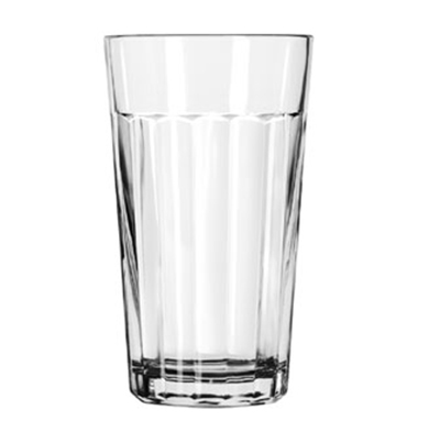 Libbey Glass 15641 12-oz DuraTuff Paneled Glass Tumbler