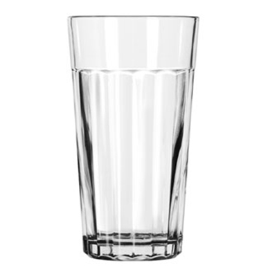 Libbey Glass 15642 16-oz DuraTuff Paneled Glass Tumbler