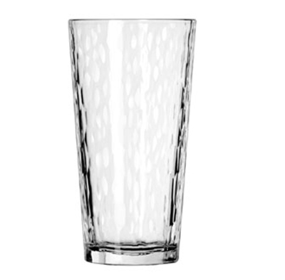 Libbey Glass 15648 20-oz DuraTuff Hammered Design Casual Cooler Glass