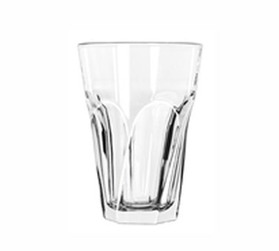 Libbey Glass 15754 14-oz Gibraltar Twist Beverage Glass