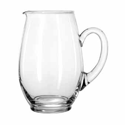 Libbey Glass 1783127 64-oz Crisa Mario Glass Water Pitcher