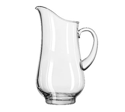 Libbey Glass 1787724 76-oz Crisa Atlantis Footed Glass Pitcher