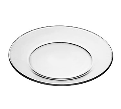 "Libbey Glass 1788489 10.5"" Crisa Moderno Tempered Dinner Plate"
