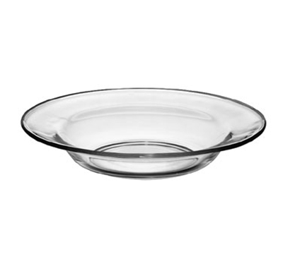 "Libbey Glass 1788490 9"" Crisa Moderno Tempered Soup Salad Plate"
