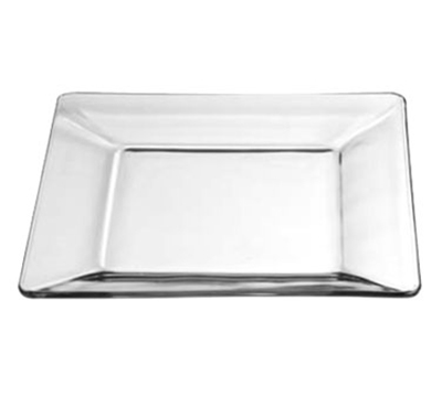 "Libbey Glass 1794708 10"" Tempo Square Dinner Plate"