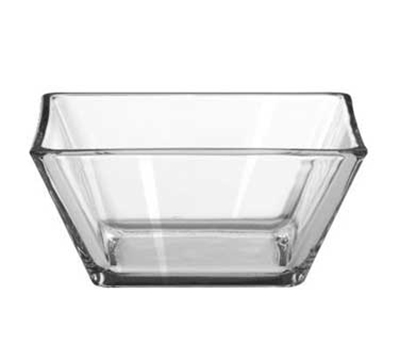 "Libbey Glass 1796599 4.25"" Tempo Square Bowl"
