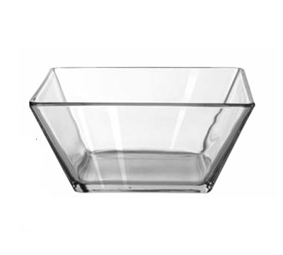 "Libbey Glass 1796053 9"" Tempo Square Bowl"