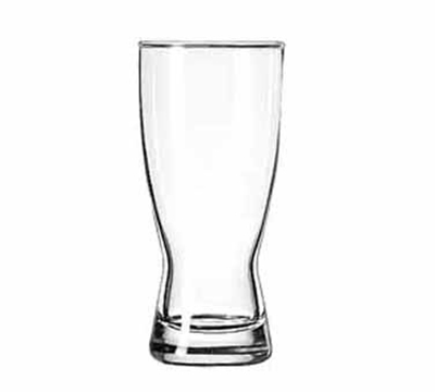 Libbey Glass 179 11-oz Hourglass Design Pilsner Glass -