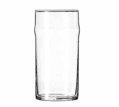 Libbey Glass 1906HT 12-oz NO-NIK Beer Glass - Safedge Rim Guarantee
