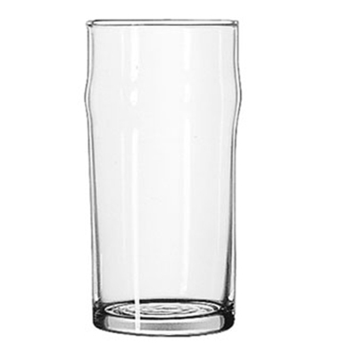 Libbey Glass 1907HT 12.75-oz NO-NIK Beer Glass - Safedge Rim Guarantee