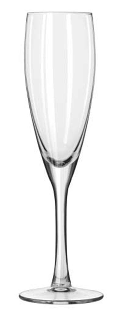 Libbey Glass 201703 7-oz Endura Champagne Flute - Safedge Rim Guarantee