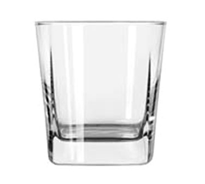 Libbey Glass 2205 12-oz Quartet Square Base Rocks Glass