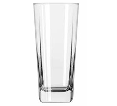 Libbey Glass 2206 16-oz Quartet Square Base Cooler Glass