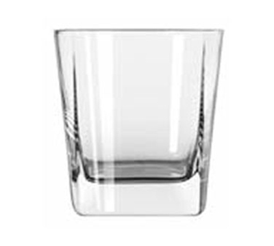 Libbey Glass 2207 9.25-oz Quartet Square Base Double Old Fashioned Glass