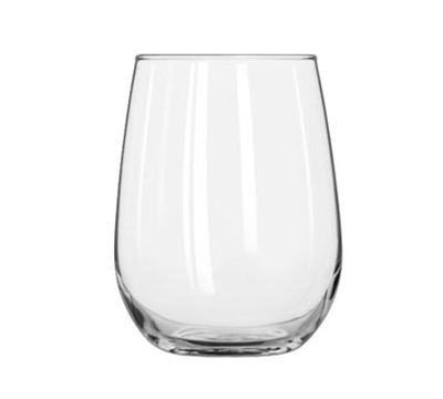 Libbey Glass 221 17-oz Stemless White Wine Glass