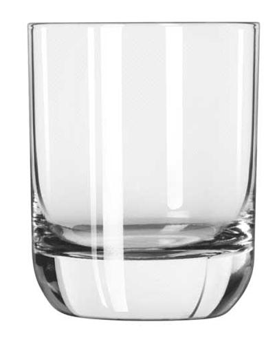 Libbey Glass 2291SR 9-oz Envy Heavy Sham Rocks Glass - Sheer Rim