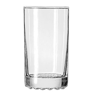 Libbey Glass 23256 9-oz Nob Hill Hi-Ball Glass - Safedge Rim Guarantee