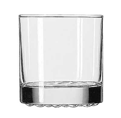 Libbey Glass 23386 10.25-oz Nob Hill Old Fashioned Glass - Safedge Rim Guarantee