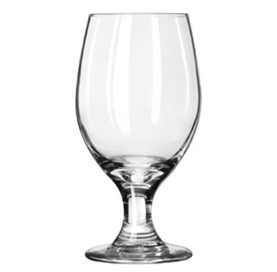 Libbey Glass 3010 14-oz Perception One-Piece Banquet Goblet - Safedge Rim & Foot