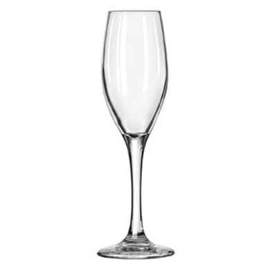 Libbey Glass 3096 5.75-oz Perception One-Piece Flute Glass - Safed
