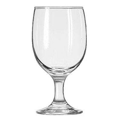 Libbey Glass 3711 11.5-oz Embassy Goblet Glass - Safedge Rim & Foot Guarantee
