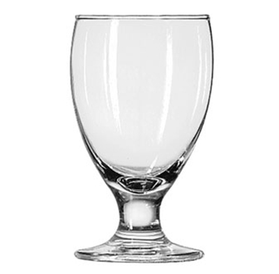 Libbey Glass 3712 10.5-oz Embassy Banquet Goblet Glass - Safedge Rim & Foot