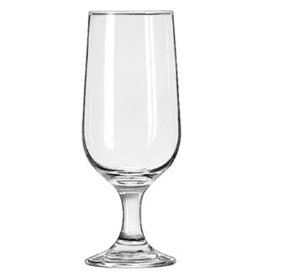 Libbey Glass 3727 10-oz Embassy Beer Glass - Safedge Rim & Foot Guarantee