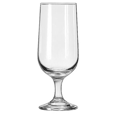 Libbey Glass 3728 12-oz Embassy Beer Glass - Safedge Rim & Foot G