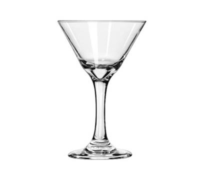 Libbey Glass 3733 7.5-oz Embassy Martini Glass - Safedge Rim & Foo