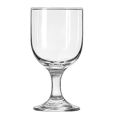 Libbey Glass 3756 10.25-oz Embassy Goblet Glass - Safedge Rim & Foot Guarantee
