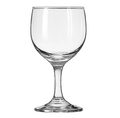 Libbey Glass 3764 8.5-oz Embassy Wine Glass - Safedge Rim & Foot Guarantee