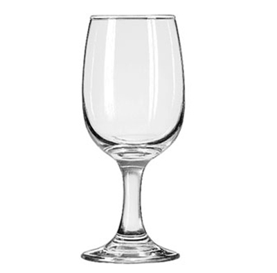 Libbey Glass 3765 8.5-oz Embassy Wine Glass - Safedge Rim