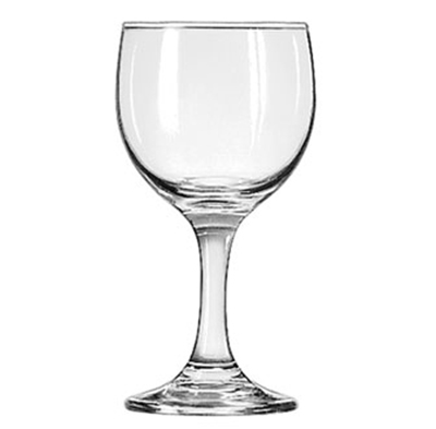 Libbey Glass 3769 6.5-oz Embassy Wine Glass - Safedge Rim & Foot