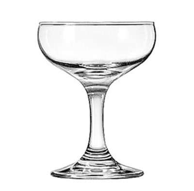 Libbey Glass 3773 5.5-oz Embassy Champagne Glass - Safedge Rim & Foot Guarantee