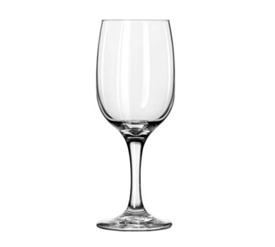 Libbey Glass 3783 8.75-oz Pear Shape White Wine Glass