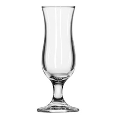 Libbey Glass 3789 1.37-oz Hurricane Shot Glass - Safedge Rim & Foot Guarantee
