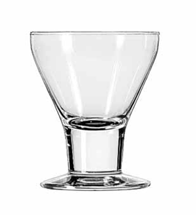 Libbey Glass 3824 7-oz Catalina Rocks Sherbet Glass Dessert - Safedge Rim