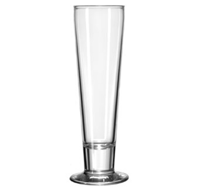 Libbey Glass 3828 12-oz Catalina Pilsner Glass - Safedge Rim & Foot Guarantee