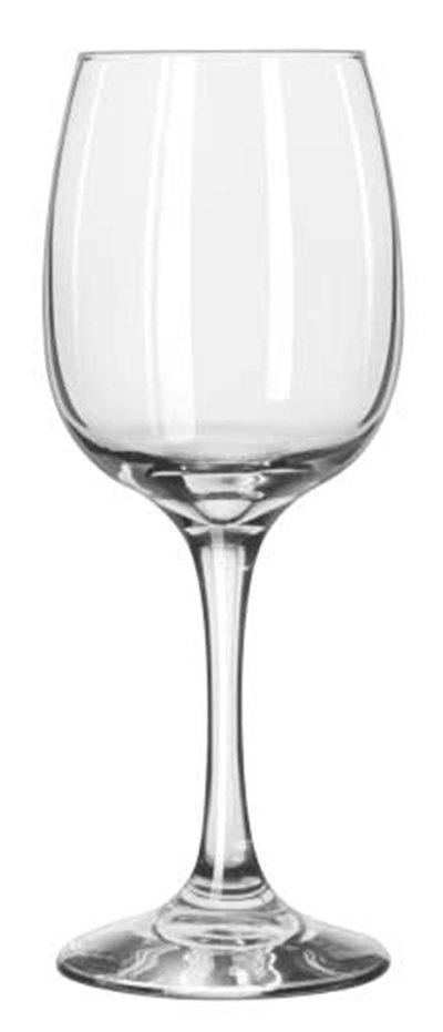 Libbey Glass 3831 8-oz Sonoma Finedge Rim Wine Glass